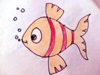Kolay Balık Çizimi | Kolay Balık Nasıl Çizilir?