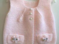 Kız Bebek Yelek Yapılışı | Bebek Yeleği Modeli