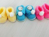 Kolay Bebek Patik Yapımı | Bebek Patiği Modelleri