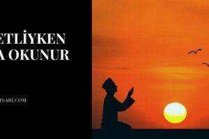 Adetliyken Dua Okunur Mu?