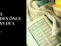 Ayetel Kürsiden Önce Okunan Dua