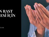İşinin Rast Gitmesi İçin Dua