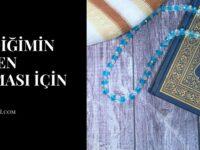 Sevdiğimin Hemen Araması İçin Dua
