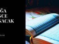 Yatağa Girince Okunacak Dua